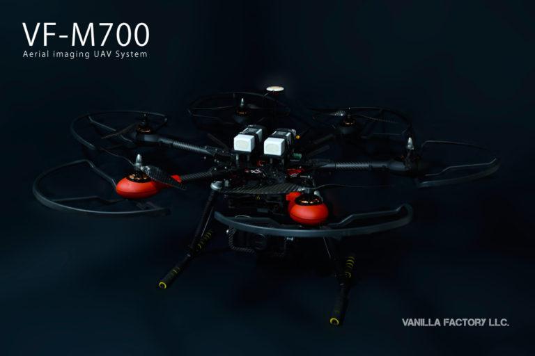 arris M700ベースの空撮機 vf-m700a
