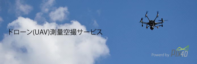 pix4d空撮測量サービス