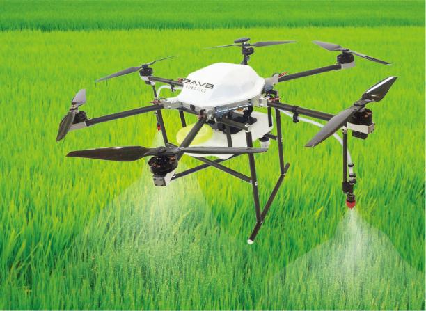 農薬散布ドローン EAMS ROBOTICS エアロスプレイヤーAS5
